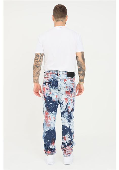 Jeans uomo just cavalli effetto painting JUST CAVALLI | Jeans | S03LA0132470