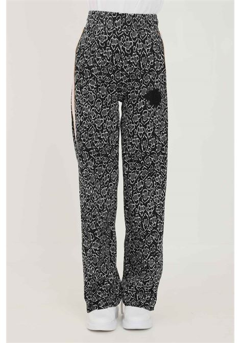 Black women's trousers by just cavalli, casual model with animal print JUST CAVALLI | Pants | S04KA0315900J