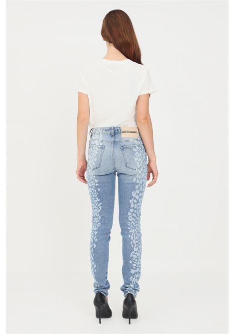 Women's jeans by just cavalli with spotted print JUST CAVALLI | Jeans | S04LA0195470