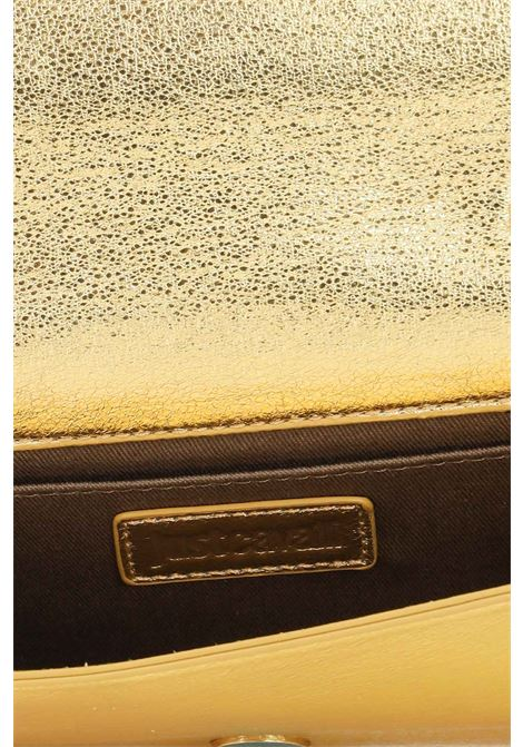 Gold women's clutch bag by just cavalli with removable chain shoulder strap JUST CAVALLI | Bag | S11WD0134906