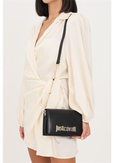 Black women's bag by just cavalli removable and adjustable shoulder strap JUST CAVALLI | Bag | S11WG0216900