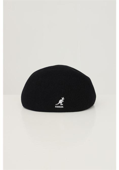 Black men's hat by kangol with contrasting logo on the back KANGOL | Hat | K0875FABK001