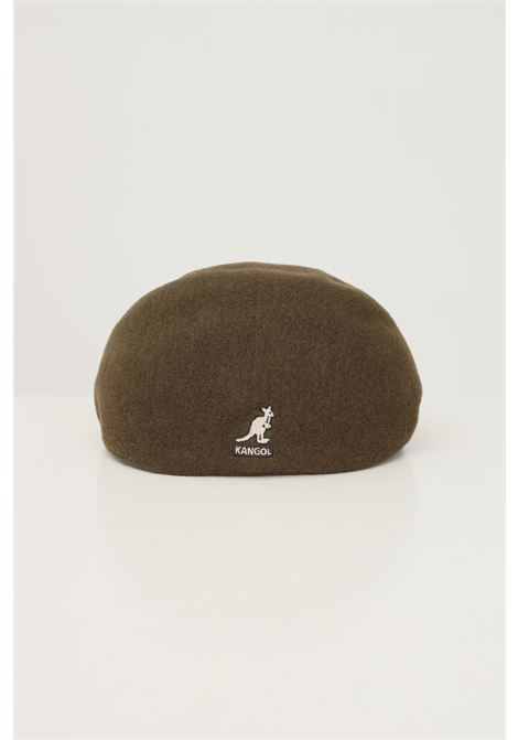 Military green men's hat by kangol with contrasting logo on the back KANGOL | Hat | K0875FACM303