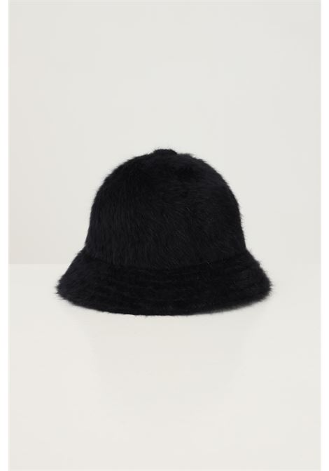 Black women's 507 bucket by kangol with contrasting logo embroidery KANGOL | Hat | K3017STBK001