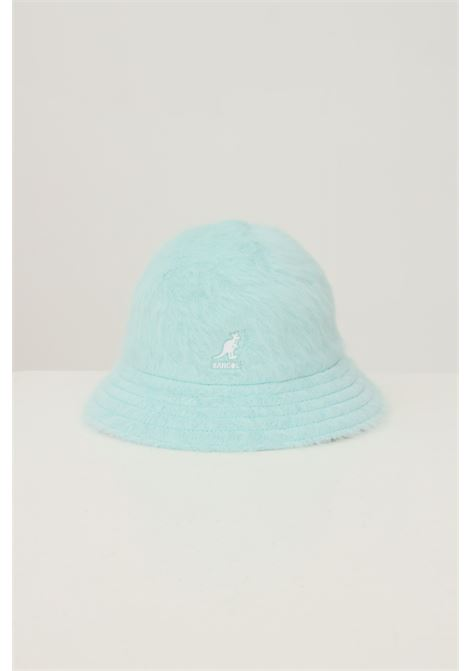 Blue women's 507 bucket by kangol with contrasting logo embroidery KANGOL   Hat   K3017STBT434