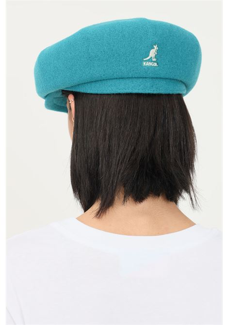 Green women's wool hawker flannel hat by kangol KANGOL | Hat | K3164HTFN438