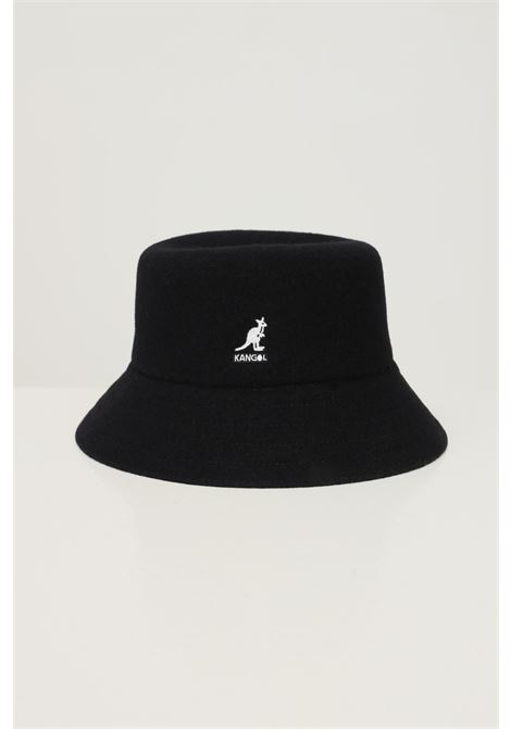 Black unisex bucket by kangol with logo embroidery on the front KANGOL | Hat | K3191STBK001