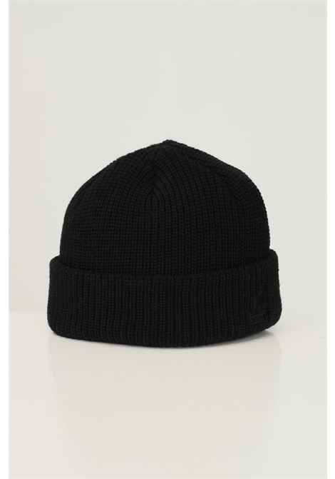 Black unisex hat by kangol with front logo embroidery in contrast KANGOL | Hat | K3454BK001