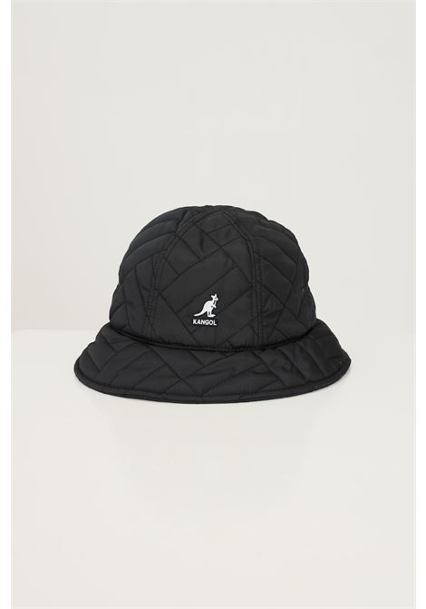 Black unisex bucket by kangol with front embroidered logo KANGOL | Hat | K4373BK001