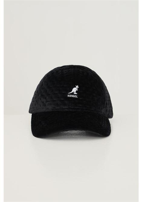 Berretto unisex nero kangol con ricamo logo frontale KANGOL | Cappelli | K5311BK001