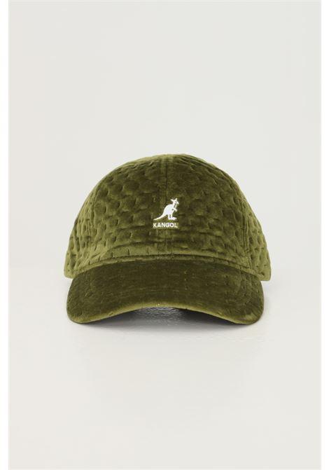 Berretto unisex verde kangol con ricamo logo frontale KANGOL | Cappelli | K5311OG349