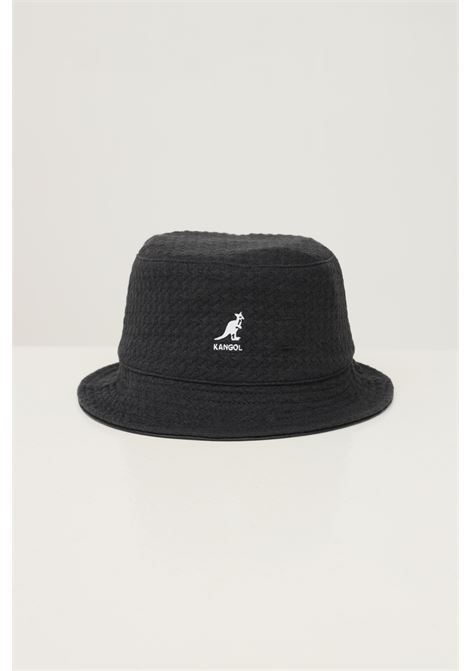 Dark grey unisex hat by kangol with logo embroidery in contrast KANGOL | Hat | K5317BB001