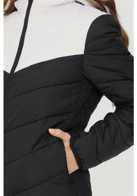 Piumino unisex nero kappa con cappuccio KAPPA | Giubbotti | 3030CQ0BX7