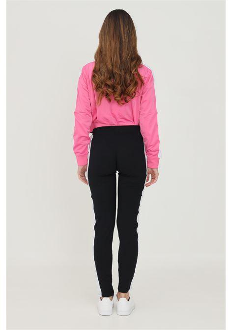Leggings donna nero kappa con bande logo laterali KAPPA | Leggings | 303WGJ0BX9