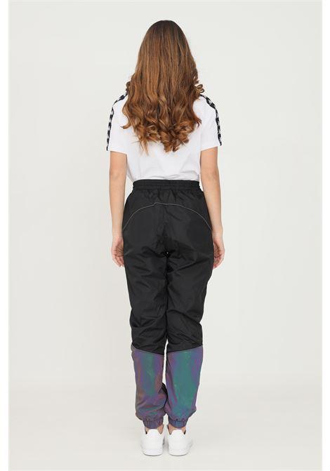Pantaloni unisex nero kappa con coulisse in vita KAPPA | Pantaloni | 311CI7WA01