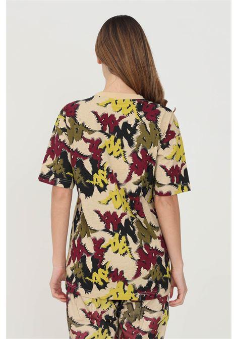 T-shirt unisex a fantasia kappa a manica corta e taschino frontale con banda logo KAPPA | T-shirt | 361258WBAX