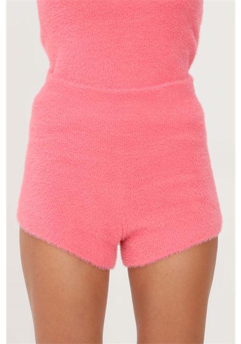 Coral women's shorts by kontatto causal model KONTATTO | Shorts | 3M8402CORALLO