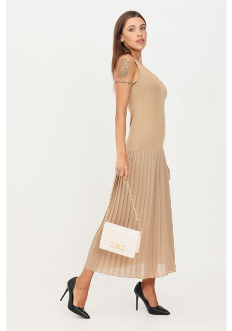 Barley dress by kontatto with pleated skirt sleeveless model KONTATTO | Dress | B4101ORZO