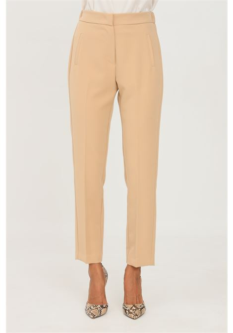 Pantaloni donna orzo kontatto modello elegante KONTATTO | Pantaloni | CO404ORZO