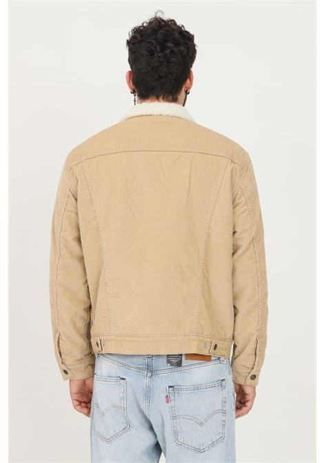 Beige men's jacket by levi's with inner fur LEVI'S | Jacket | 16365-00660066
