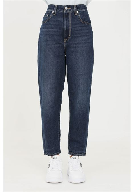 Blue women's jeans by levi's wide leg model LEVI'S   Jeans   17847-00100010