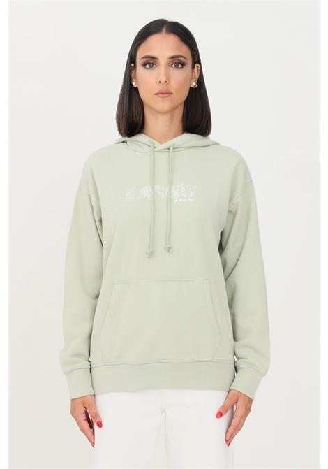 Felpa standard graphic donna verde levi's con cappuccio LEVI'S | Felpe | 18487-00710071