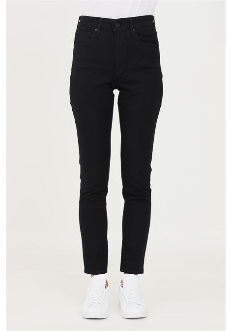 Black women's 721 skinny trousers by levi's  LEVI'S   Jeans   18882-02330233