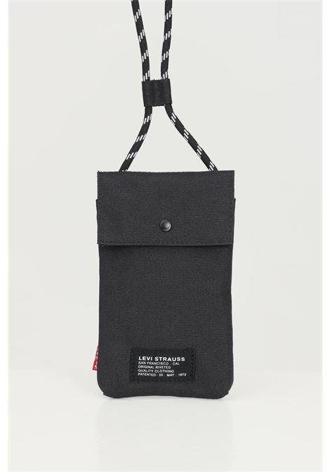 Black unisex bag by levi's LEVI'S | Bag | 233126-00208059