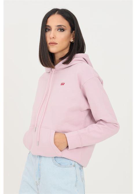 Felpa donna rosa levi's con cappuccio LEVI'S | Felpe | 24693-00200020