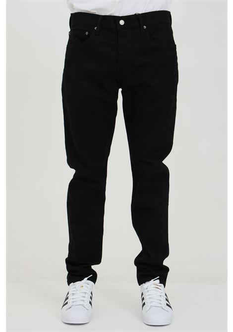 Black jeans in solid color with medium waist, regular model, 5 pockets. Levi's  LEVI'S | Jeans | 28833-00130013