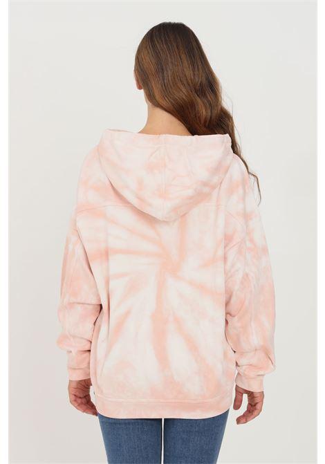 Felpa donna rosa levi's con cappuccio e stampa tie dye LEVI'S | Felpe | 32953-00120012