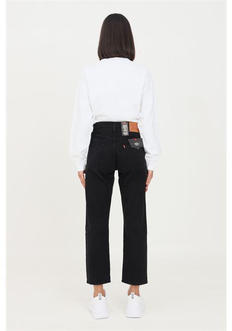 Pantaloni 501 crop donna nero levi's a vita alta LEVI'S | Jeans | 36200-00850085