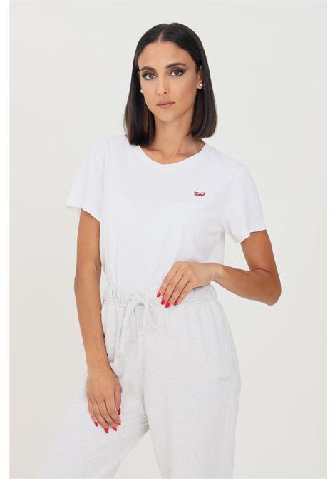 T-shirt perfect tee donna bianco levi's a manica corta LEVI'S | T-shirt | 39185-00060006