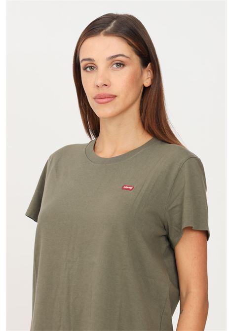 T-shirt perfect tee verde levi's a manica corta LEVI'S | T-shirt | 39185-01510151
