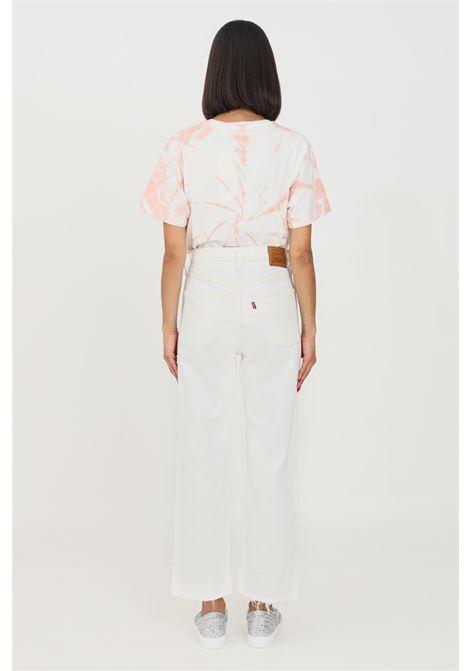 Jeans donna bianco levi's a vita alta e fondo dritto LEVI'S | Jeans | 72693-00760076