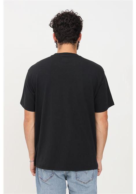T-shirt unisex nero levi's a manica corta con logo ricamato LEVI'S | T-shirt | A0637-00010001