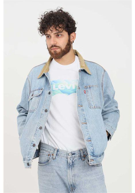 Denim jacket by levi's with velvet collar LEVI'S | Jacket | A0640-00000000