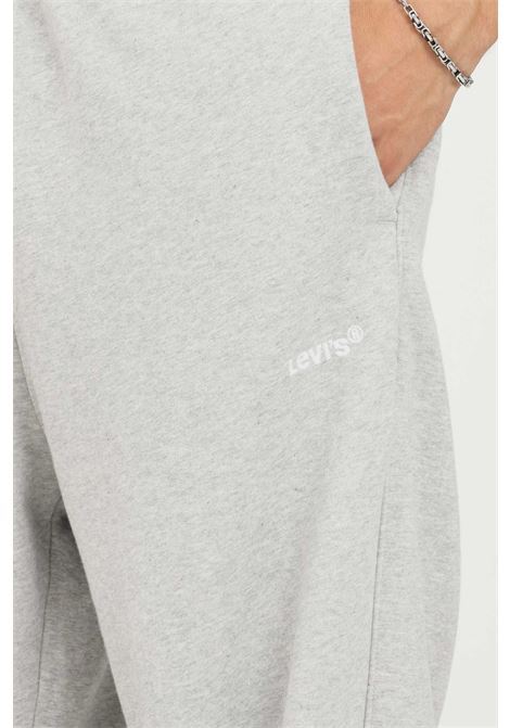 Grey men's trousers by levi's casual model with embroidered logo LEVI'S | Pants | A0767-00000000