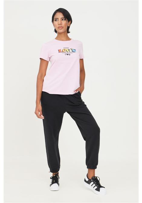 Black women's trousers by levi's, casual model with elastic waistband LEVI'S | Pants | A0887-00040004