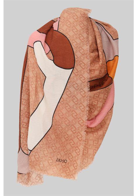 Fantasy women's stole by liu jo with allover print LIU JO | Scarf | 2F1043T030051317