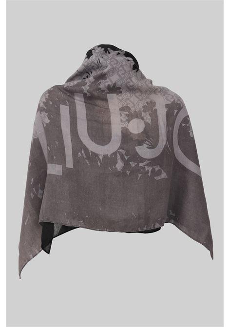 Scarf by liu jo with allover logo print LIU JO | Scarf | 2F1048T030022222