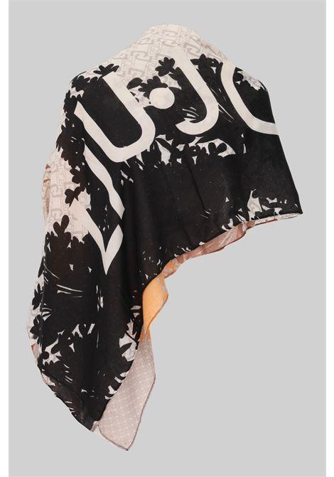 Scarf by liu jo with allover logo print LIU JO | Scarf | 2F1048T030091241