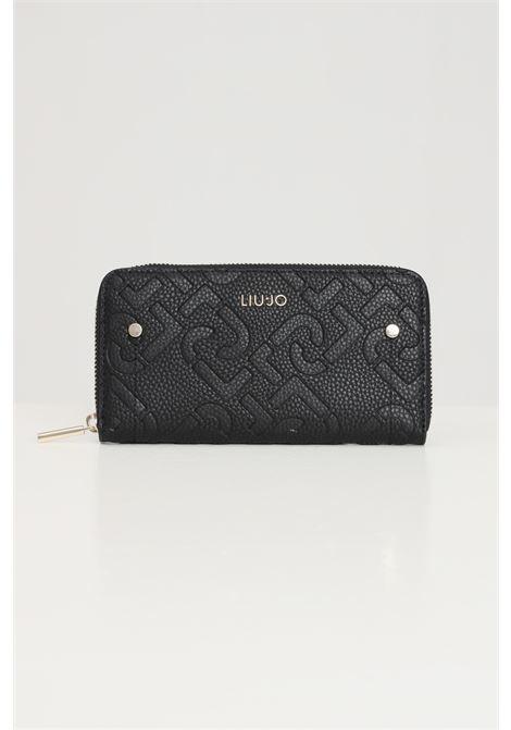 Black women's wallet eco-sustainable model liu jo LIU JO | Bag | AF1051E053822222