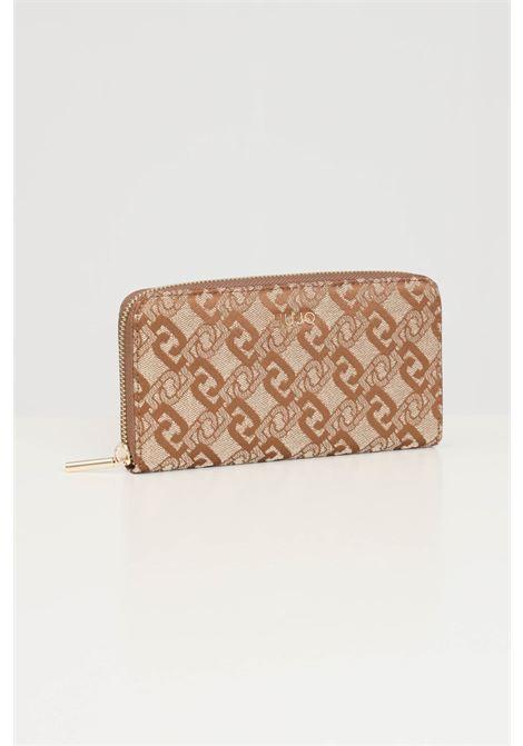 Beige women's wallet liu jo  LIU JO | Wallet | AF1051T643891241