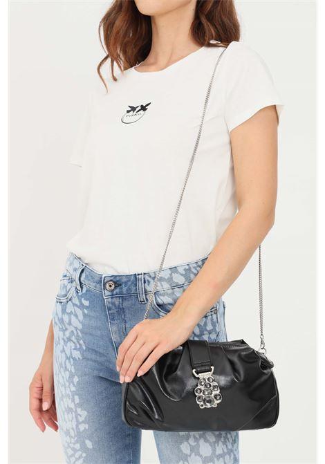 Black women's pouch with jewel detail liu jo  LIU JO | Bag | AF1164E000422222