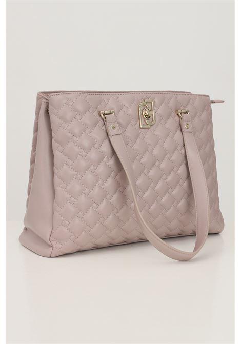 Pink women's bag by liu jo with included shoulder strap  LIU JO   Bag   AF1172E000561506