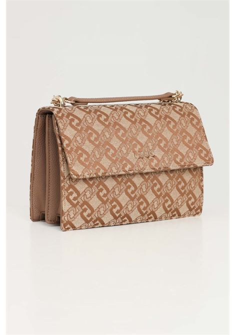 Beige women's bag with shoulder strap liu jo  LIU JO | Bag | AF1205T643891241