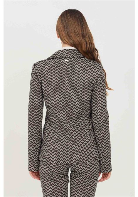Multicolor women's jacket by liu jo with allover print LIU JO | Blazer | WF1183J1657S9203
