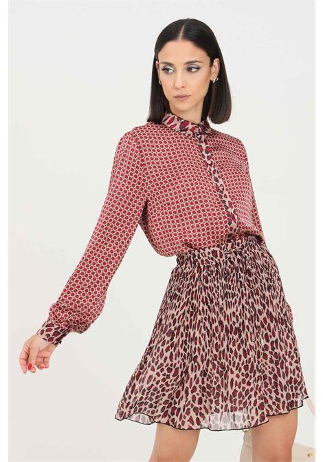 Multicolor women's shirt by liu jo elegant model with allover print LIU JO   Shirt   WF1359T5027S9196