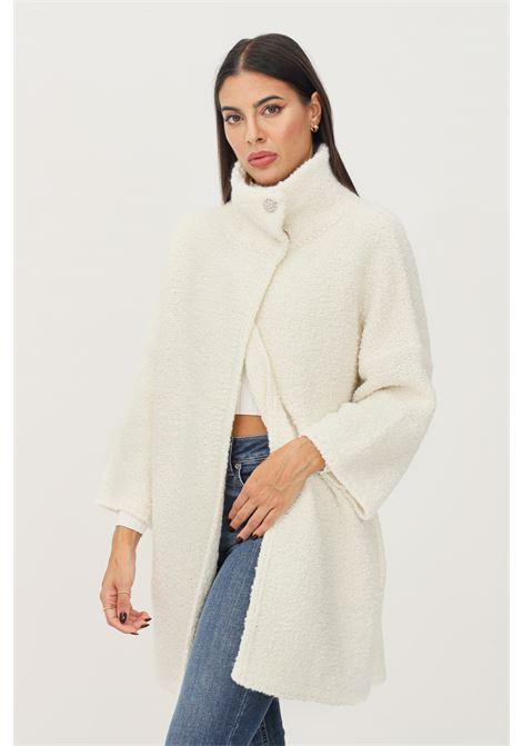 Cream women's cardigan by liu jo plush effect LIU JO   Cardigan   WF1534MA27J10701